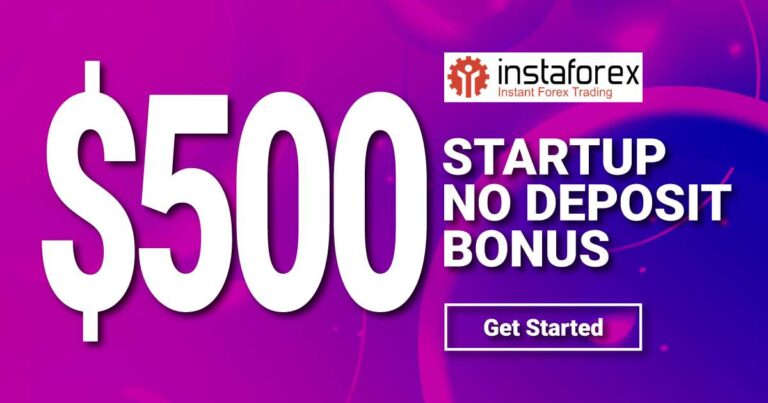 Free 500 StartUp reward for all new clients – InstaForex