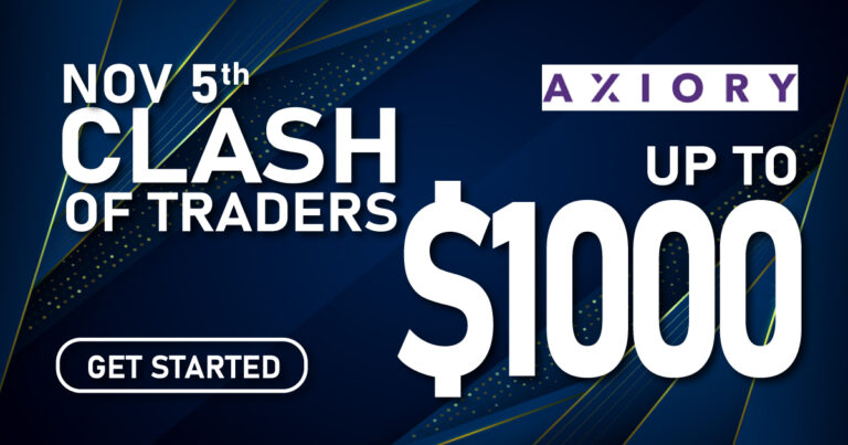Get Up to $1000 Clash of Traders II Axiory
